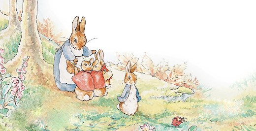 The Tale of Peter Rabbit - داستان پیتر خرگوشه