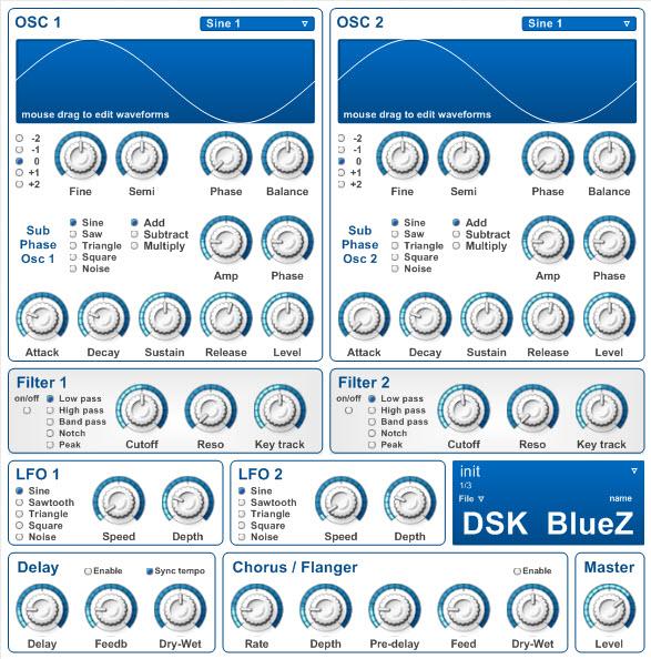 دانلود وی اس تی DSK BlueZ