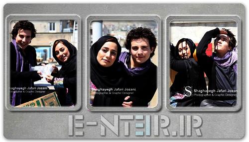 عکس های جدید امیر کاظمی و نامزدش مهتاب محسنی