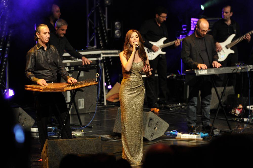 تصاویر نانسی عجرم در کنسرت استکهلم Nancy Stockholm Concert - Spring 2013