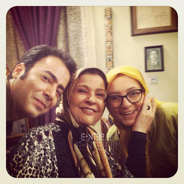 عکس جدید سحر ولدبیگی در کنار افسر اسدی و نیما فلاح