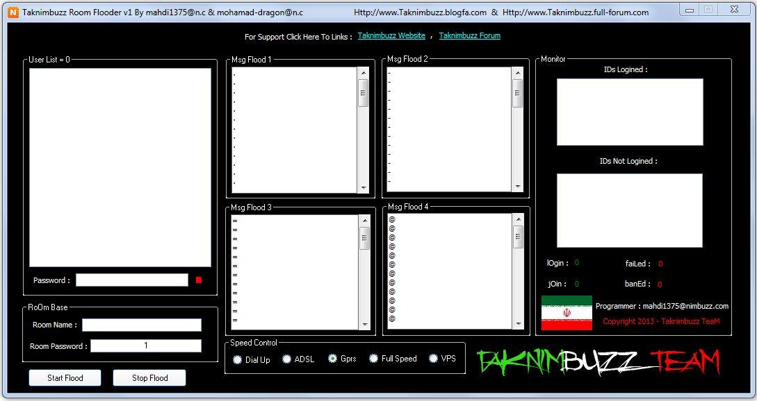 Taknimbuzz Room Flooder v1 Full Speed ( Updated ) Taknimbuzz_room_flooder_v1
