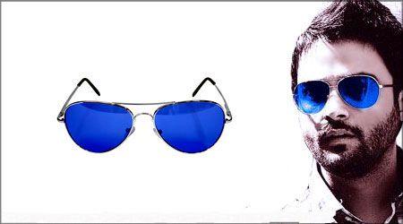 عینک آفتابی شیشه آبی مدل ریبن