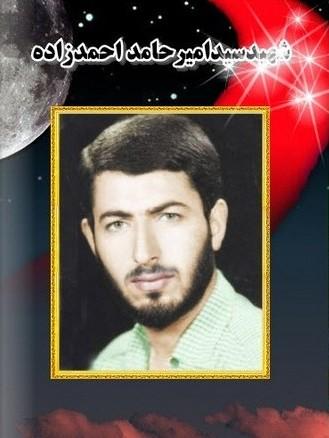 زندگینامه شهیدسیدامیرحامداحمدزاده نیاکی