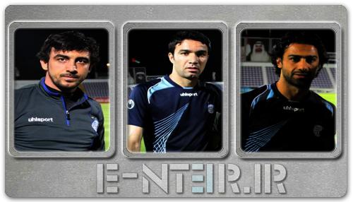 عکس های جدید بازیکنان استقلال