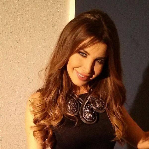 تصاویر نانسی عجرم و ولید نصیف در ساخت ویدیو کلیپ جدید نانسی Nancy filming a new video with Walid Nassif today