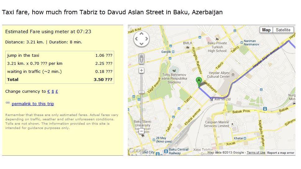 tabriz street