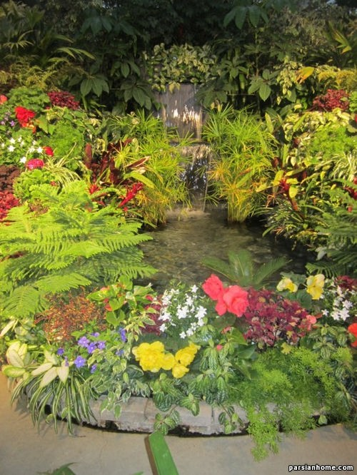 فواره و آبنماهای حیاط و فضای سبز
