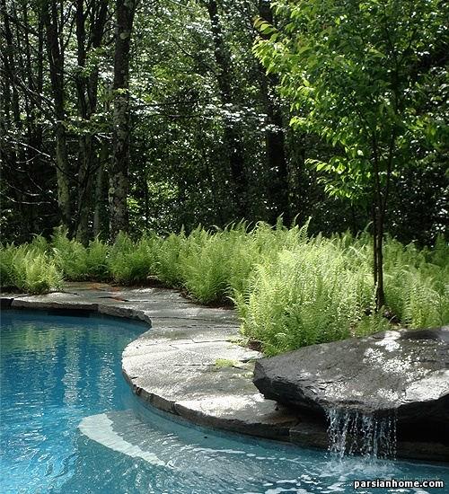 مدل فواره و آبنمای حیاط و فضای سبز