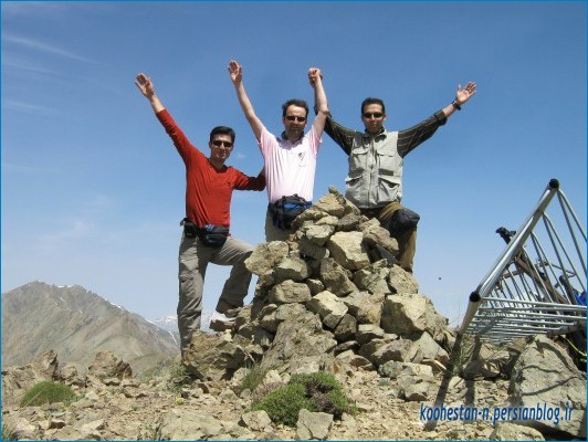 قله تالون - علیرضا یاوری، رضا نورکامی و نیما اسماعیلی