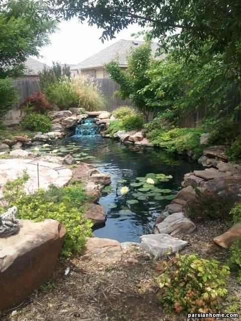 مدل آبگیر و برکه فضای سبز