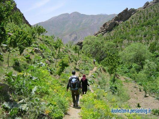 مسیر قله تالون