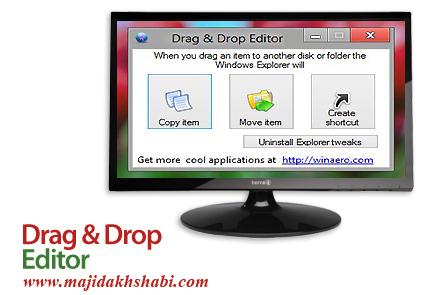 نرم افزار سفارشی کردن عمل Drag و Drop فایل ها در ویندوز