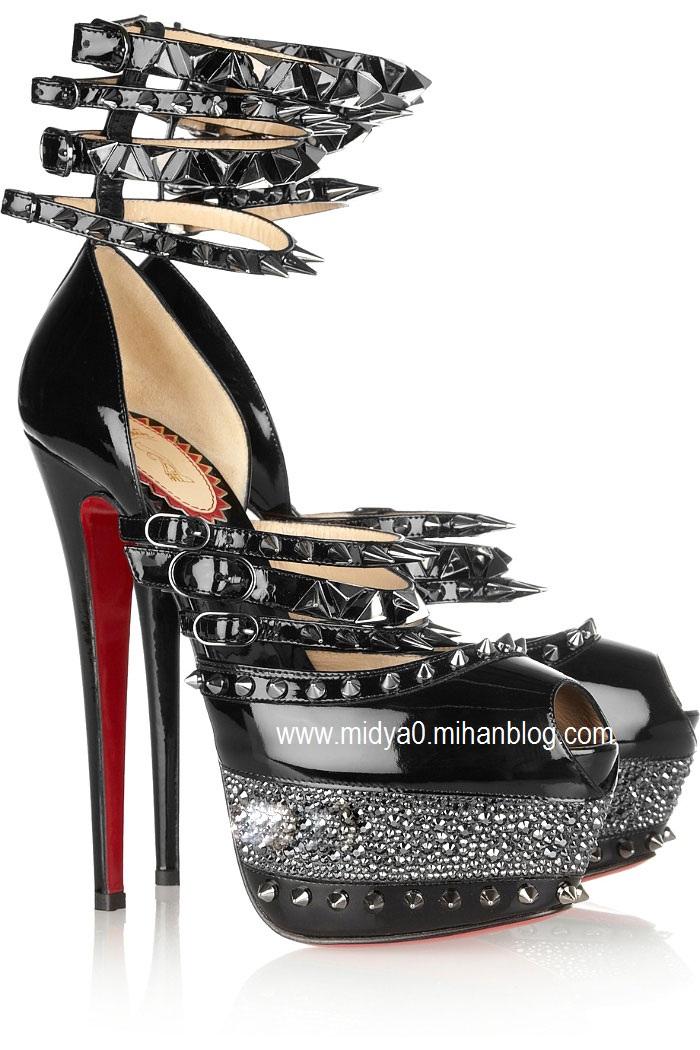 مدل کفش,مدل کفش های زنانه,کفش,مدل,مد,عکس,عکس های شیک کفش,عکس های زیبای کفش,گرانترین کفش های دنیا,کفش از جنس الماس,عکس از کفش های دم باز,عکس های کفش های پاژنه بلند,عکس کفش دخترانه,عکس های جدید و زیبا,مد و زیبایی,کفش های شیک و زیبا,جدیدترین عکس های کفش