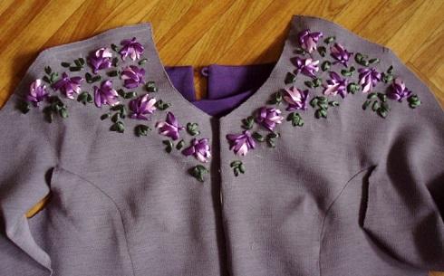 طرح گل نمدی طرح رومیزی هنركده ژينا - روباندوزی