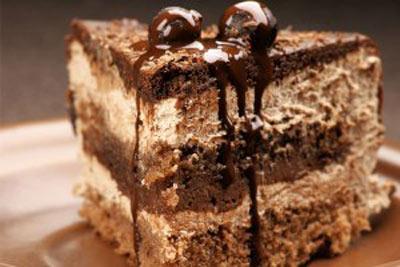 کیک شکلاتی رژیمی,کیک گردو و خرما