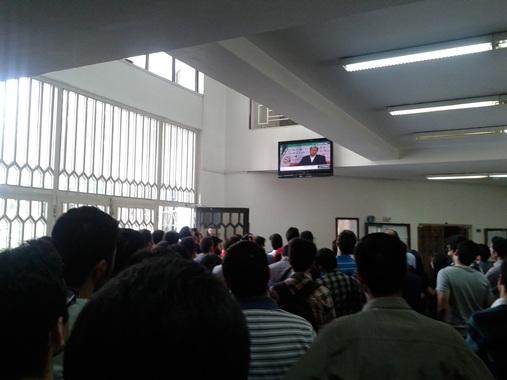 25خرداد 1392- دانشکده ی مکانیک دانشکده فنی تهران