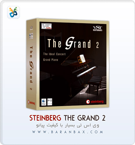 دانلود وی اس تی پیانو Steinberg The Grand 2