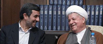 عشوه ی احمدی نژاد و هاشمی