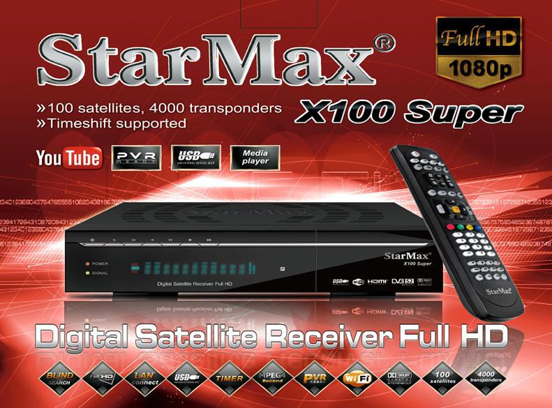 فروش رسیور استارمکس2014- x100 super-فروش رسیور فول اچ دی