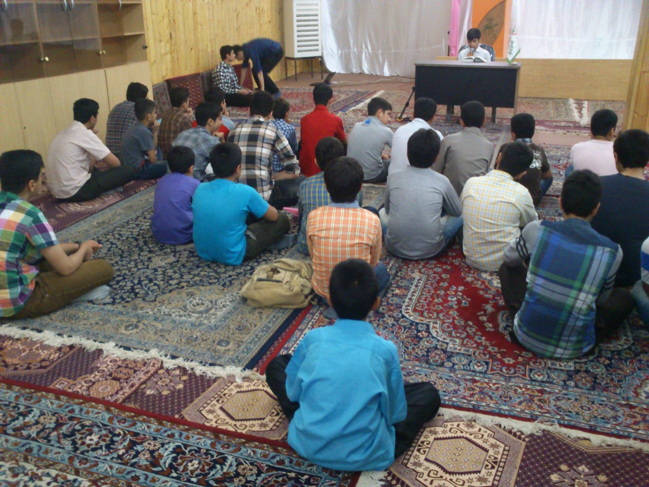 افتتاحیه کلاس های تابستانی پایگاه-قرائت قرآن