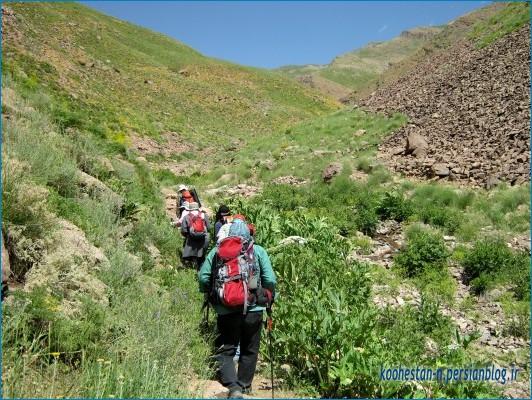 مسیر قله سیچال