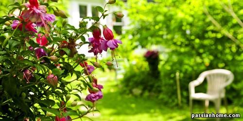 محوطه سازی باغچه های کوچک
