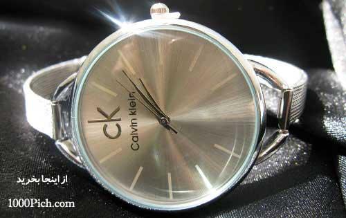 خرید ساعت مچی ck نقره ای