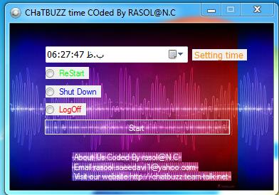 CHATBUZZ Timer By rasol@N.C 4555456456441654