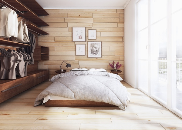 طراحی اتاق خواب به سبک معاصر