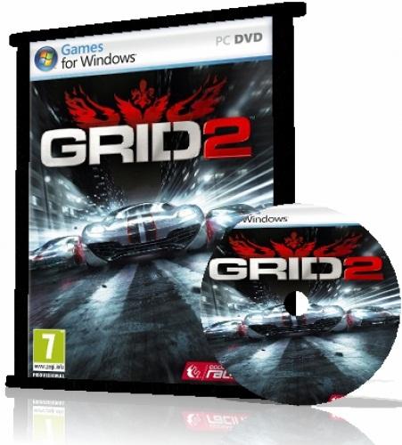 خرید اینترنتی پستی بازی ماشینی Grid 2