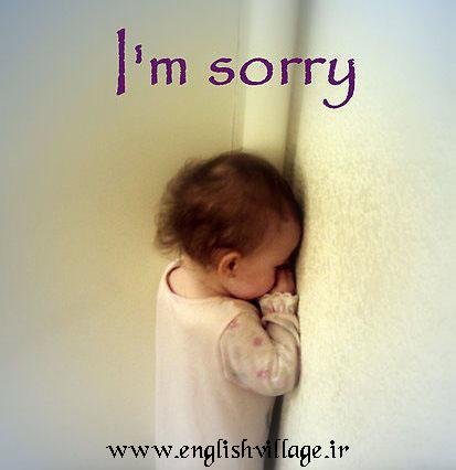 sorry - apologize - پوزش - معذرت - عذرخواهی