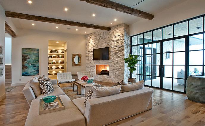 خانه ای طراحی شده در استین