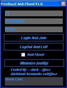 FreebuzZ ANTI FLOOD V1.0  FRB_ANTIFLOOD