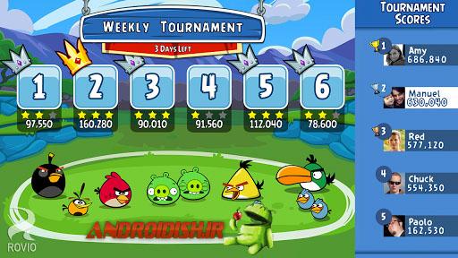 دانلود بازی دوستان پرندگان خشمگین Angry Birds Friends 1.1.0