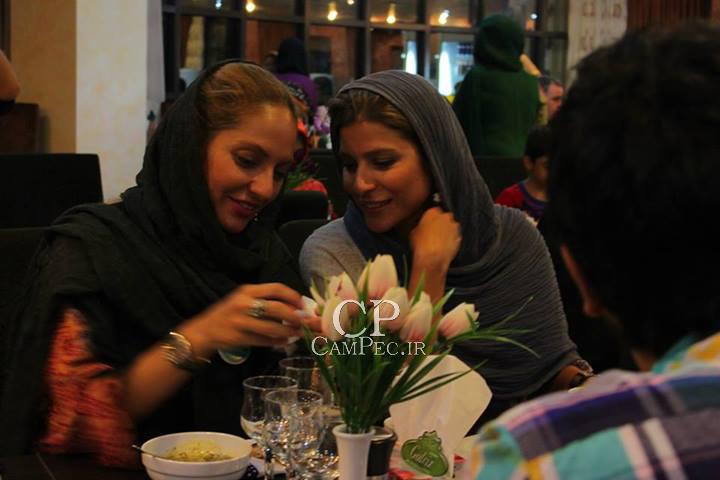 سحر دولتشاهی و مهناز افشار