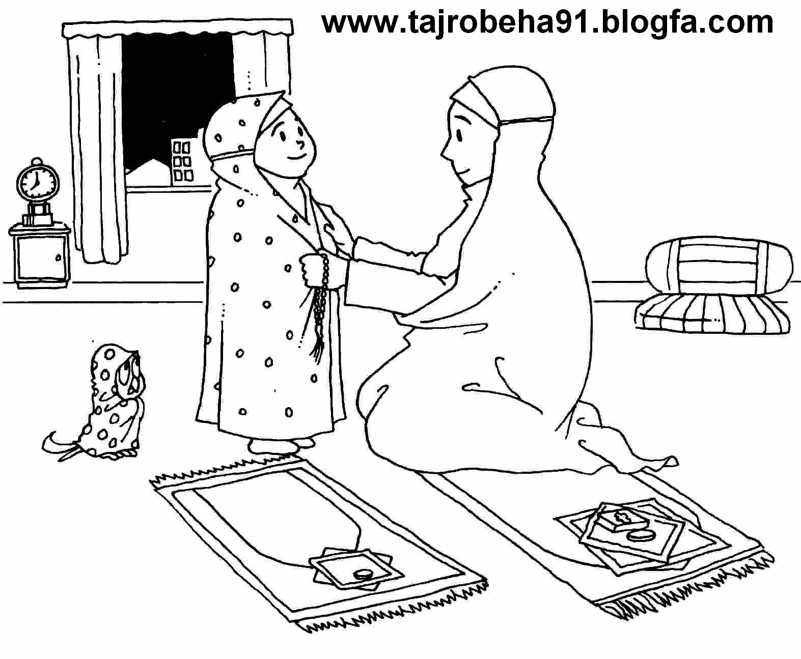 نقاشی حاشیه گل تجربه های آموزشی قرآنی