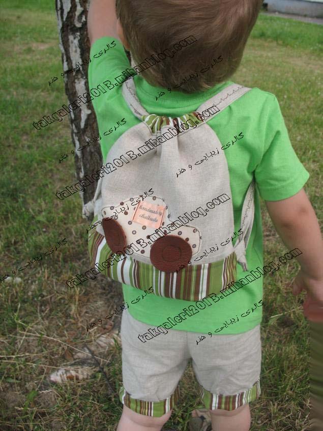 Рюкзак своими руками для ребенка