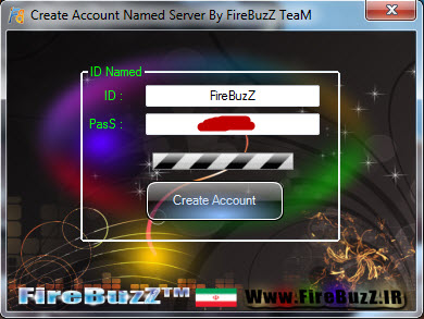 Create Account Named Server By FireBuzZ TeaM Screeen1