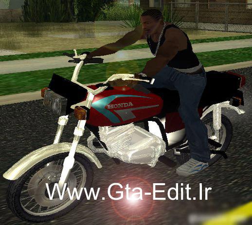 موتور هوندا 125 ایرانی