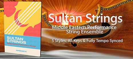 دانلود وی اس تی استرینگ و ویولن ترکی Sonokinetic Sultan Strings