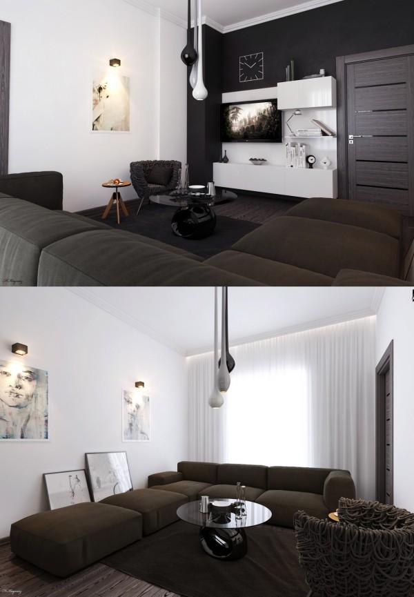 نمونه هایی زیبا از طراحی اتاق نشیمن