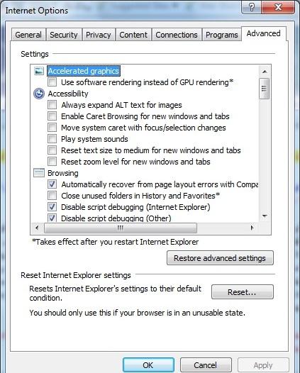 راهنمای نصب افزونه توکن در مرورگرهای Internet Explorer 8 , 9 (ثبت اسناد)