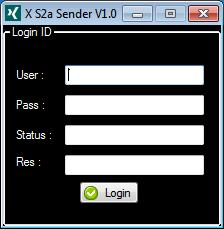 X S2a Sender - Ssc