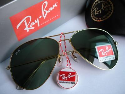خرید عینک آفتابی ریبن طلایی