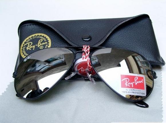 خرید عینک آفتابی مردانه ریبن مشکی