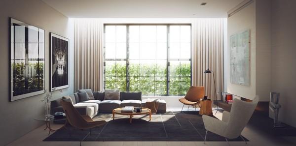 طراحی اتاقهای نشیمن