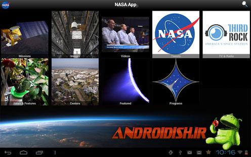 دانلود برنامه ناسا NASA App 1.41  برای اندروید