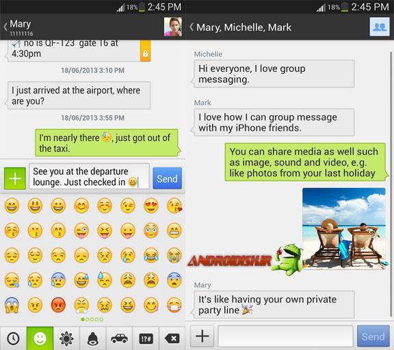 دانلود برنامه ارسال اس ام اس Textra SMS 1.25 برای اندروید