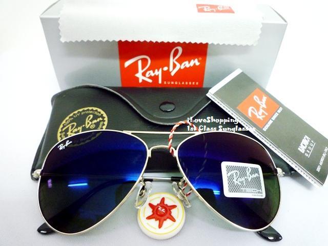 عینک آفتابی 2013 ریبن شیشه آبی